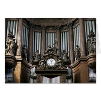 St Sulpice (visión cercana) Tarjeta De Felicitación