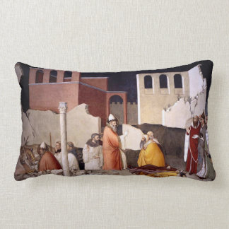 St. Sylvester Fresco Lumbar Pillow