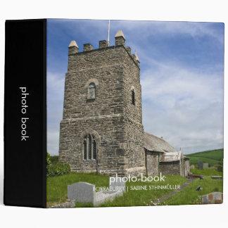St. Symphorian, Forraburry, Cornwall Photo Book 3 Ring Binder