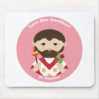 St. Tarjeta del día de San Valentín Tapetes De Ratones