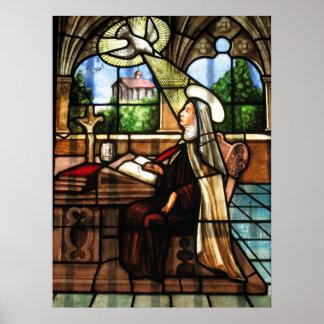 St Teresa de Ávila, doctor de la iglesia Posters