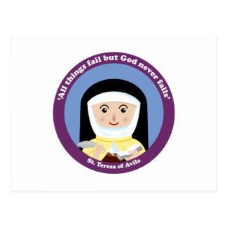St Teresa de Ávila Tarjetas Postales