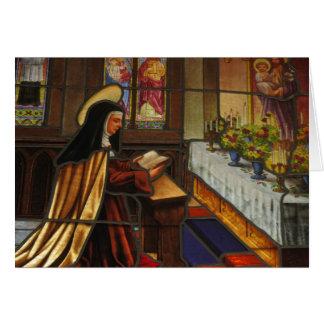 St. Teresa of Avila (2) Greeting Card