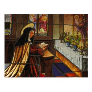 St. Teresa of Avila (2) Postcard