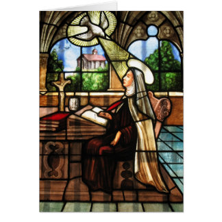 St. Teresa of Avila (3) Card