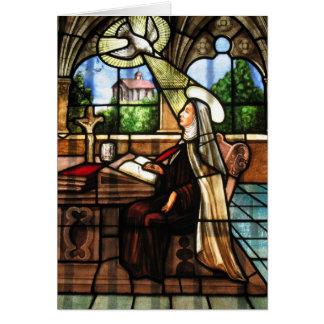 St. Teresa of Avila (3) Greeting Card