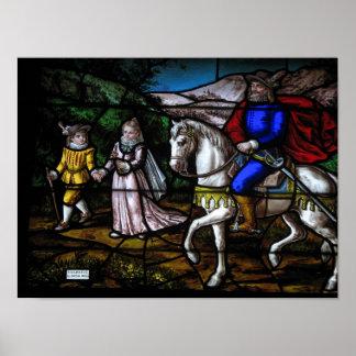 St. Teresa of Avila as a Young Girl Poster
