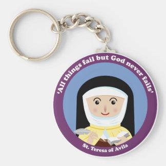 St Teresa of Avila Keychains