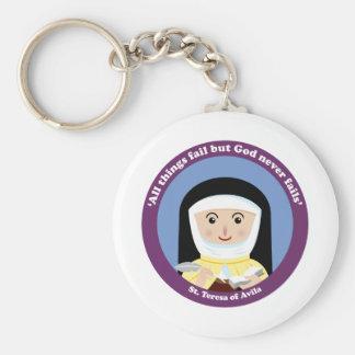 St. Teresa of Avila Keychains