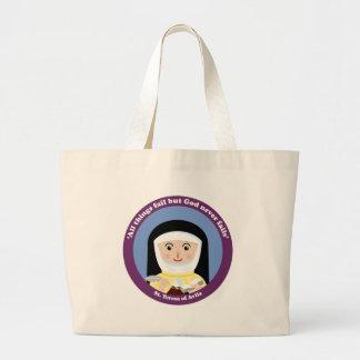 St. Teresa of Avila Large Tote Bag