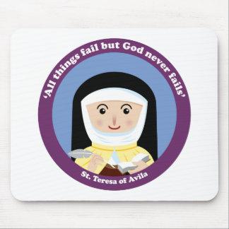 St. Teresa of Avila Mouse Pad