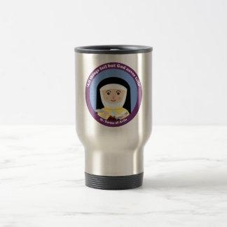 St. Teresa of Avila 15 Oz Stainless Steel Travel Mug