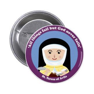 St. Teresa of Avila Pinback Buttons