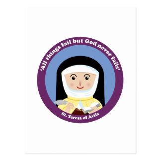 St. Teresa of Avila Postcard