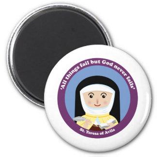 St. Teresa of Avila Refrigerator Magnets