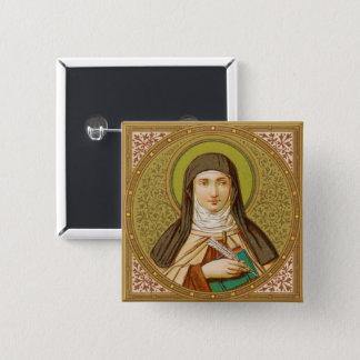 St. Teresa of Avila (SNV 27) Square Button