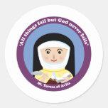 St. Teresa of Avila Stickers