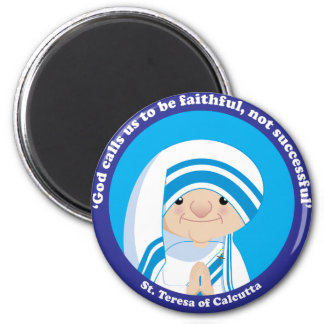 St. Teresa of Calcutta 2 Inch Round Magnet