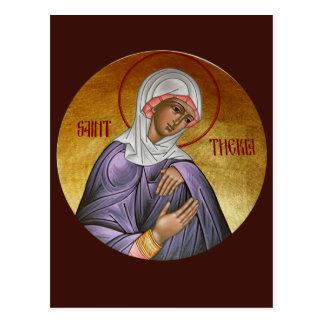 St. Thekla Prayer Card