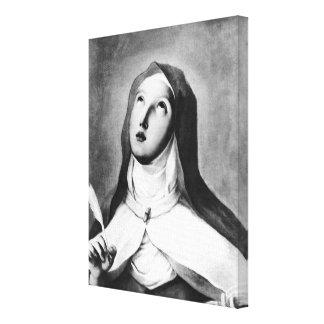 St Theresa de Ávila Impresión En Lona