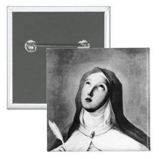St Theresa de Ávila Pin Cuadrada 5 Cm