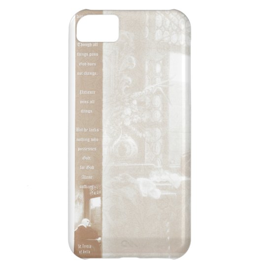 St. Theresa iPhone 5C Case
