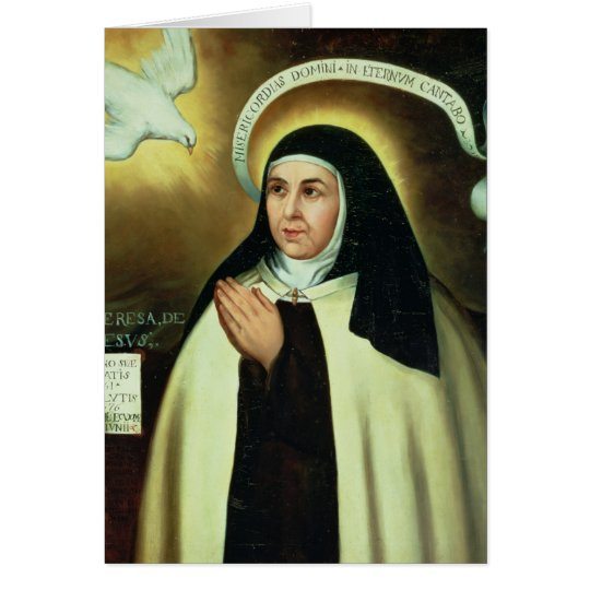 St. Theresa of Avila  1570 Card