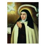 St. Theresa of Avila  1570 Postcard
