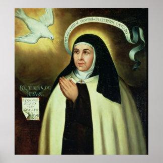 St. Theresa of Avila  1570 Poster