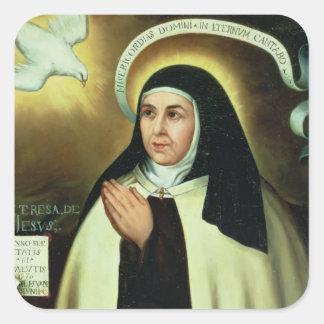 St. Theresa of Avila  1570 Square Sticker