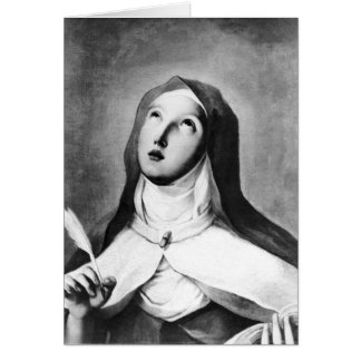 St. Theresa of Avila Card