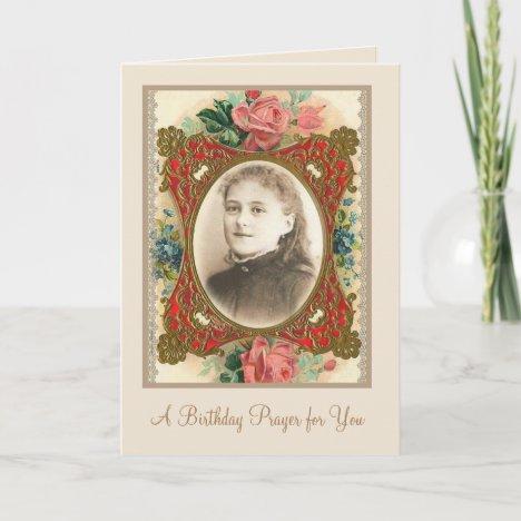 St. Therese Catholic Saint Religious Nun Card