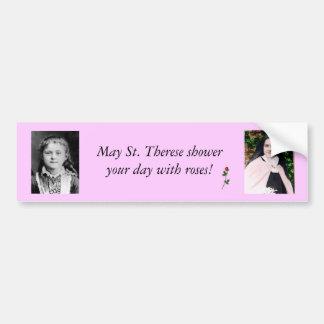 St. Therese de Lisieux Bumper Sticker