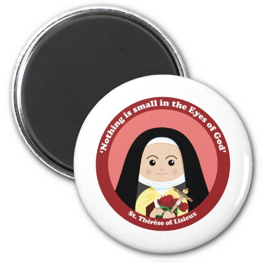 St. Thérèse de Lisieux Imán De Frigorifico