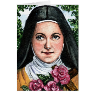 St Therese de Lisieux Note Card