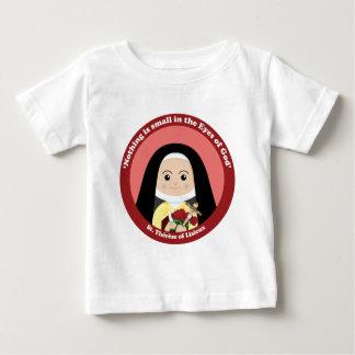 St. Thérèse de Lisieux Playera De Bebé
