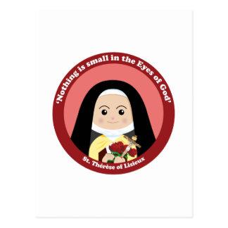 St. Thérèse de Lisieux Tarjeta Postal