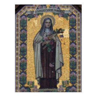 St. Thérèse de Lisieux Tarjetas Postales