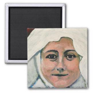 St. Thérèse de los imanes de Lisieux Imán Cuadrado