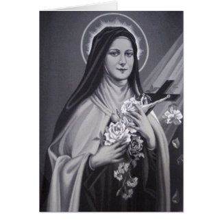 St. Therese Note Card w/prayer inside