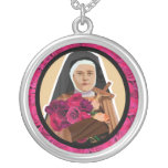 St. Therese of Lisieux a little flower necklace