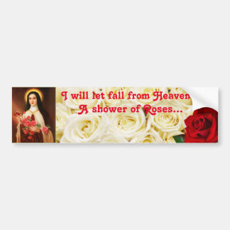 St. Therese Of Lisieux bumper sticker