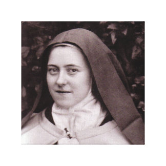 St Therese of Lisieux Canvas Print