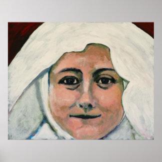 St. Thérèse of Lisieux Canvas Print
