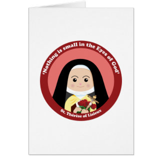 St. Thérèse of Lisieux Greeting Cards