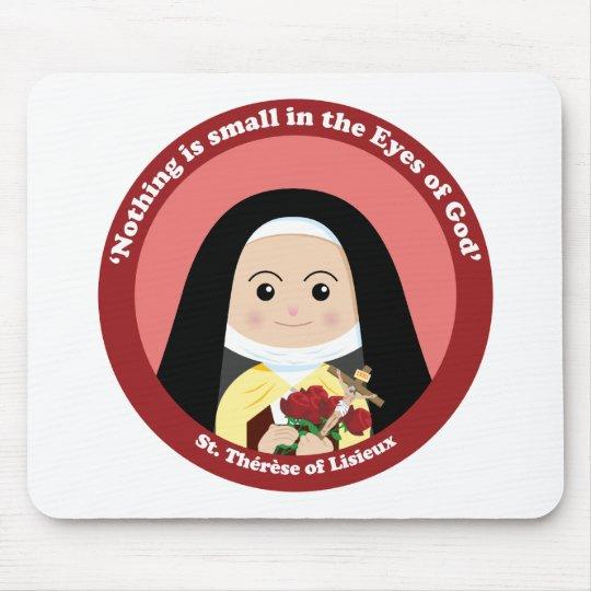 St. Thérèse of Lisieux Mouse Pad