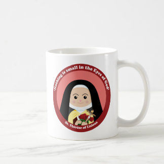 St. Thérèse of Lisieux Classic White Coffee Mug