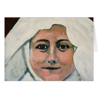 St. Thérèse of Lisieux Notecard Note Card