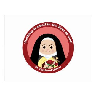 St. Thérèse of Lisieux Postcard