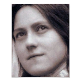 St Therese of Lisieux Poster